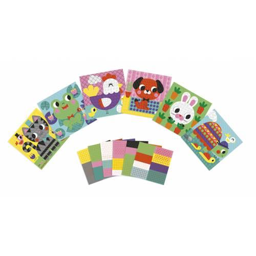 Set creativ - Mozaic - Animalute - Janod