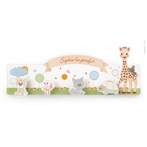 Cuier din lemn - Girafa Sofia - Janod (J09515)