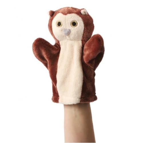 Prima mea papusa de mana Bufnita - The Puppet Company