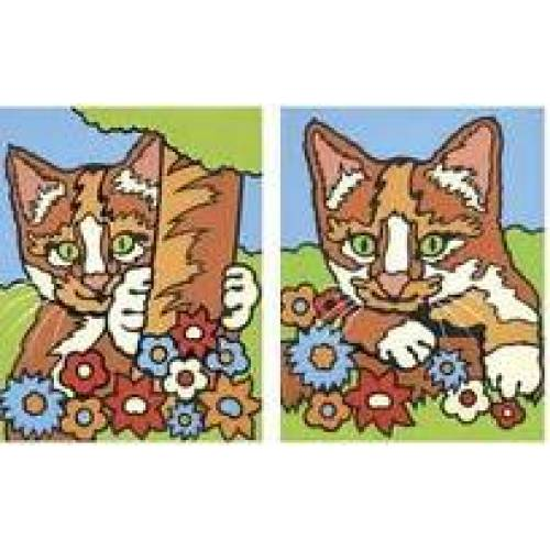 Pictura Cu Numere 2 Modele - Pisici - Reeves