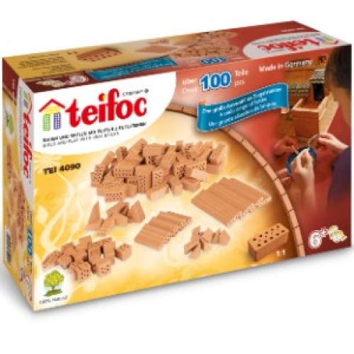 Set caramizi diverse (100 buc) - Teifoc (TEI 4090)