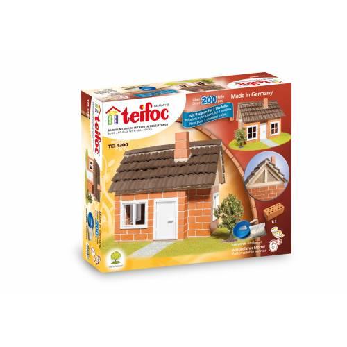 Set de constructie din caramizi - Casa cu mansarda - Teifoc