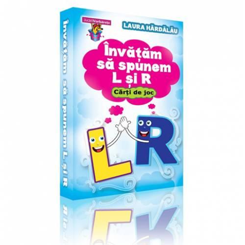 Invatam sa spunem L si R – carti de joc