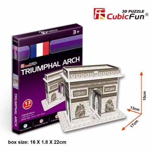 Arcul de triumf Paris Franta - Puzzle 3D - 13 piese
