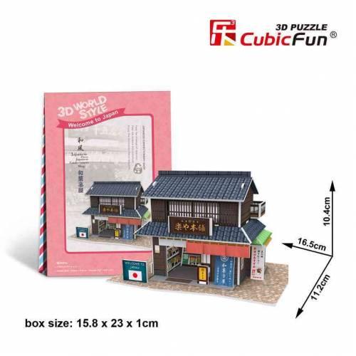 Magazin confectii Japonia - Puzzle 3D - 24 de piese
