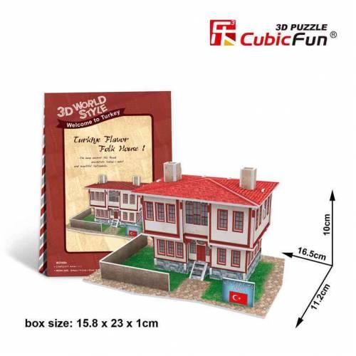 Casa turceasca model 1 - Puzzle 3D - 26 de piese