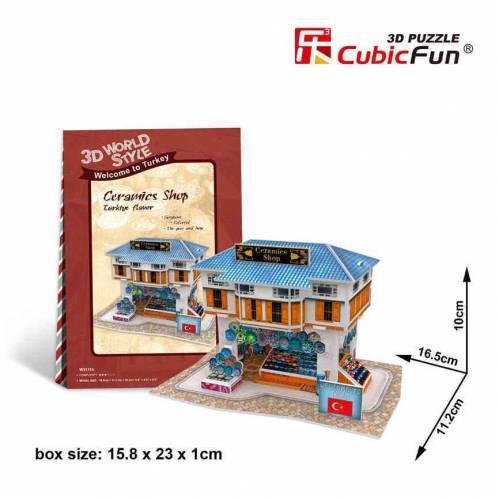 Magazin produse ceramice Turcia - Puzzle 3D - 25 de piese