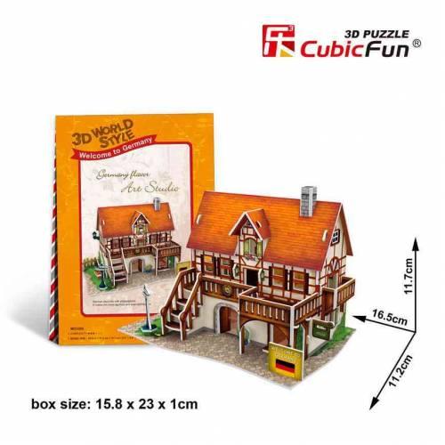 Casa Germania - Puzzle 3D - 39 de piese