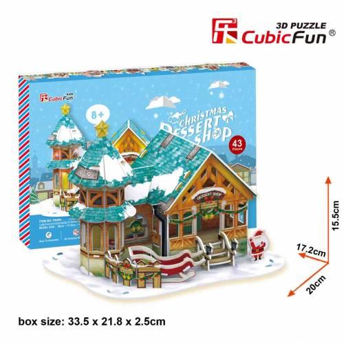 Christmas Desert Shop - Puzzle 3D - 43 piese