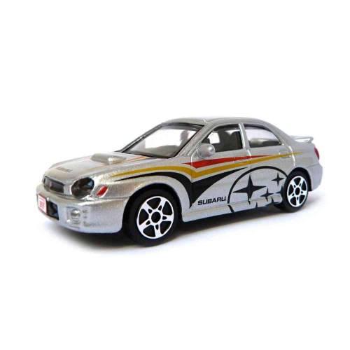 Subaru Impreza WRX - Argintiu - 1:43 Street Fire