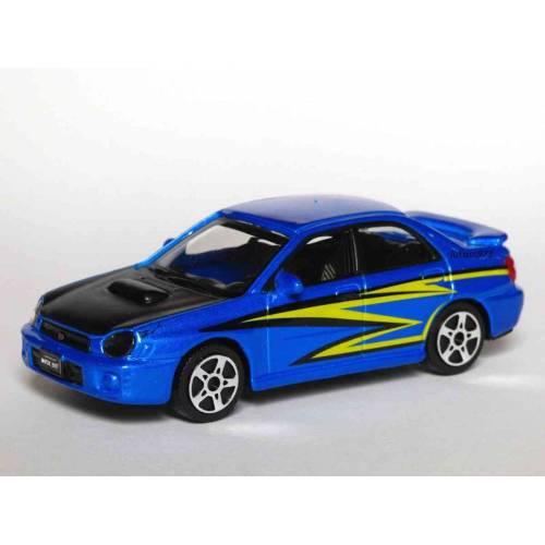Subaru Impreza WRX - Albastru - 1:43 Street Fire