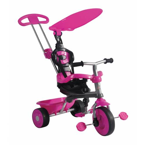 Tricicleta roz Galaxy 3 in 1 TRIKE STAR