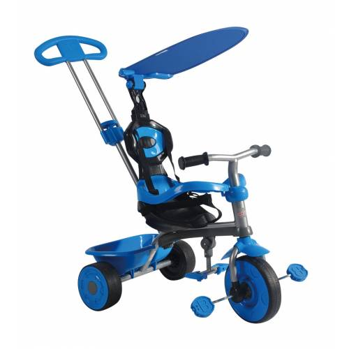 Tricicleta albastra Galaxy 3 in 1 TRIKE STAR