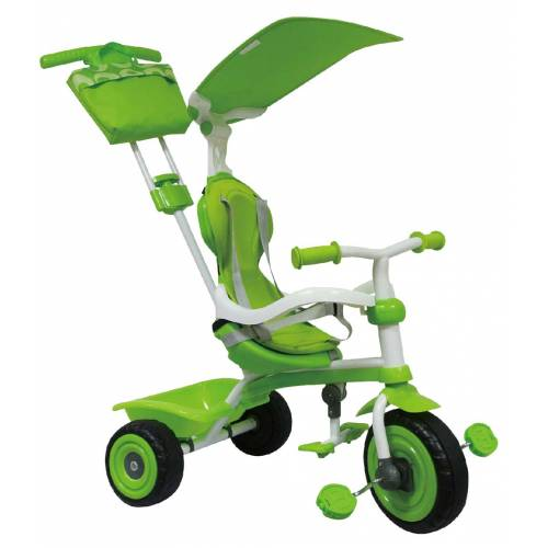 Tricicleta verde Luxury 3 in 1 TRIKE STAR