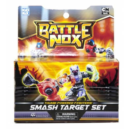 Set antrenament robot de lupta Battle Nox cu suport detasabil