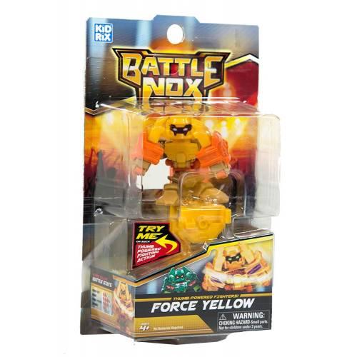 Robot de lupta Battle nox - galben