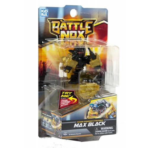 Robot de lupta Battle nox - negru