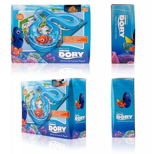 Set de joaca peste robot Nemo si circuit - Finding Dory