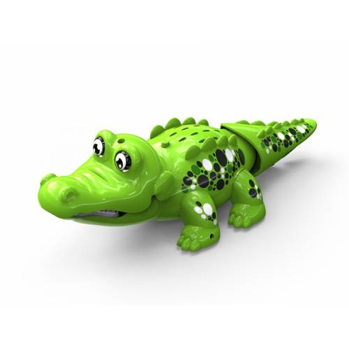 Crocodil interactiv - verde