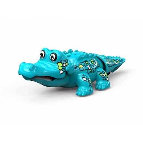 Crocodil interactiv - albastru