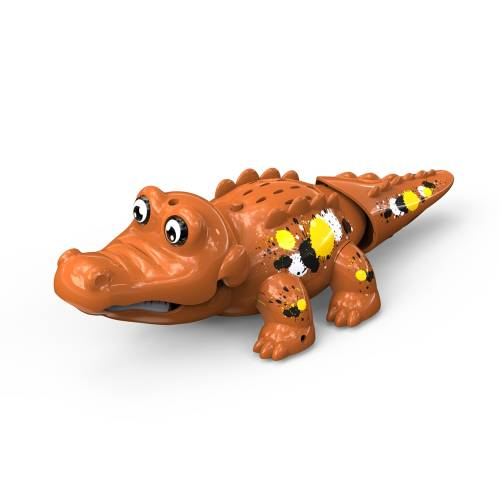 Crocodil interactiv - maro