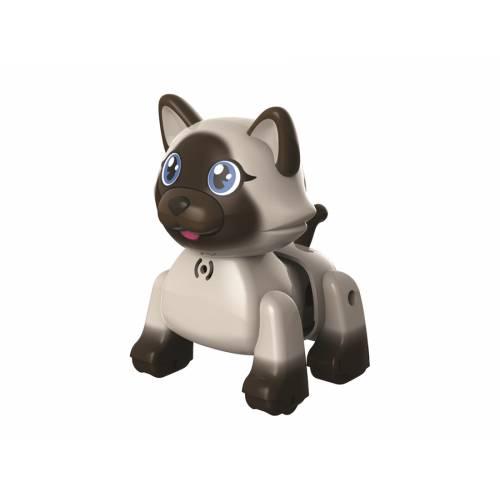 Pisicuta interactiva - gri