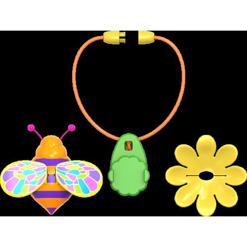Set gandacel magic cu accesorii - portocaliu