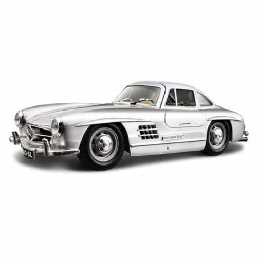 Mercedes-Benz 300SL - argintiu - 1:24