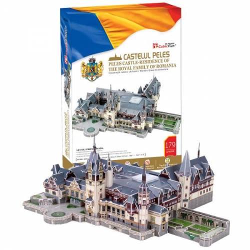 Castelul Peles Romania - Puzzle 3D - 179 de piese