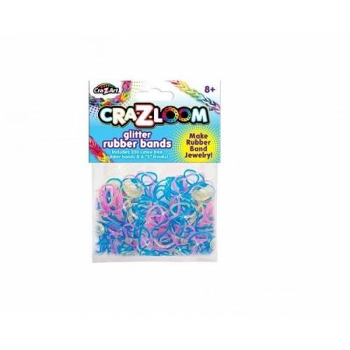 CRA-Z-LOOM REZERVE BENZI ELASTICE -Multicolor transparent