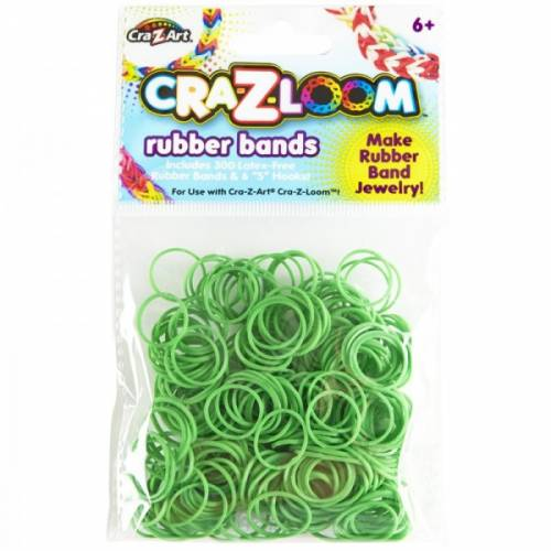 CRA-Z-LOOM REZERVE BENZI ELASTICE -Verde inchis