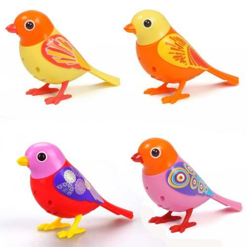 Set patru pasari interactive DigiBirds – varianta 1
