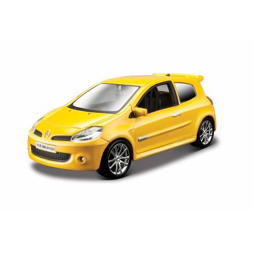 Renault Clio Sport - galben metalizat - 1:32
