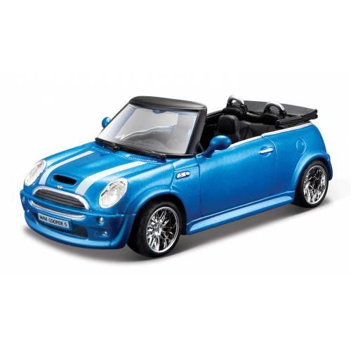Mini Cooper S Cabriolet - Albastru metalizat - 1:32
