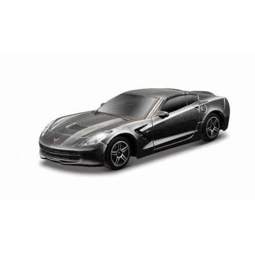 2014 Corvette Stingray - Metallic Grey - Minimodel auto 1:43 Street Fire