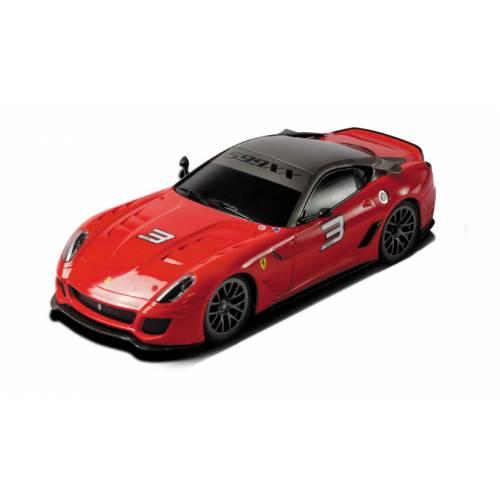 Ferrari 599XX - Rosie - Radiocomandat - Gama XQ 1:18