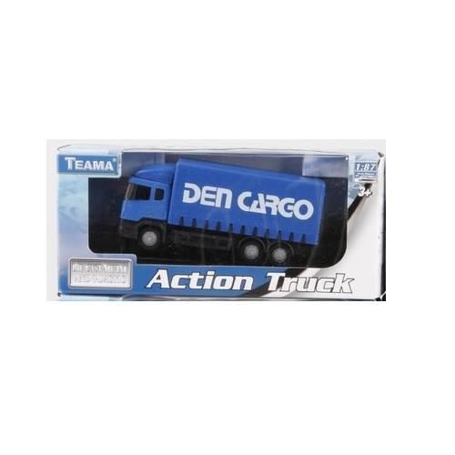 Camion Action Truck - Albastru - Scara 1:87