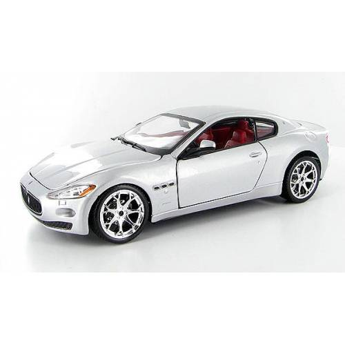 Maserati Gran Turismo - argintiu - 1:24