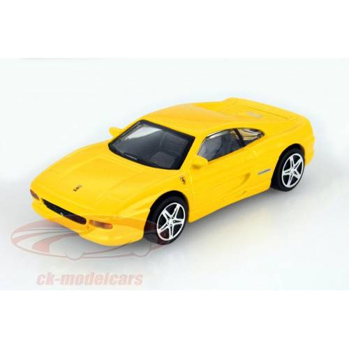 Ferrari F355 Berlinetta - galben - 1:43 Race & Play
