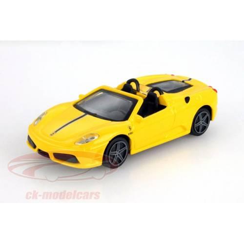 Ferrari Scuderia Spider 16M - galben - 1:43 Race & Play