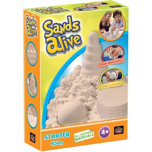 Nisip kinetic Sands Alive - culoarea naturala