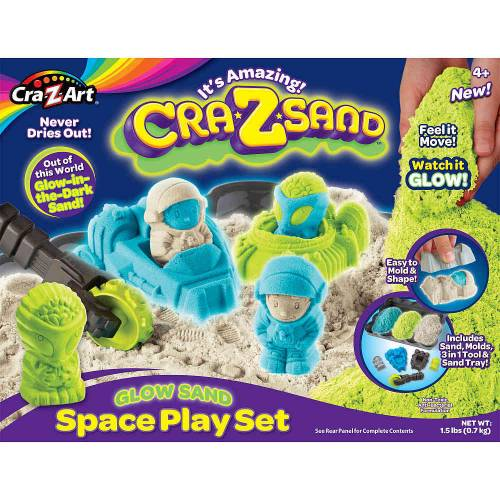 Cra-Z Sand Fluorescent Calatorie Spatiala