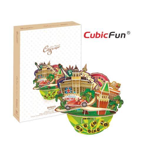 City Scape Las Vegas - Puzzle 3D - 64 de piese