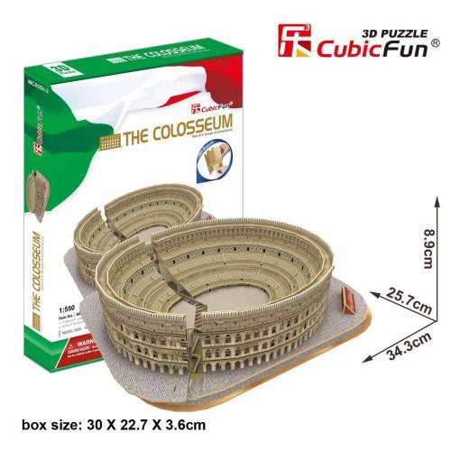 Coloseumul Roma Italia - Puzzle 3D - 84 de piese