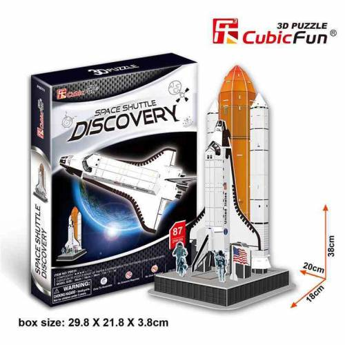 Naveta Spatiala Discovery - Puzzle 3D - 87 de piese